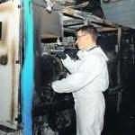 Brandursachenermittlung im Platsch-Bad Oschatz